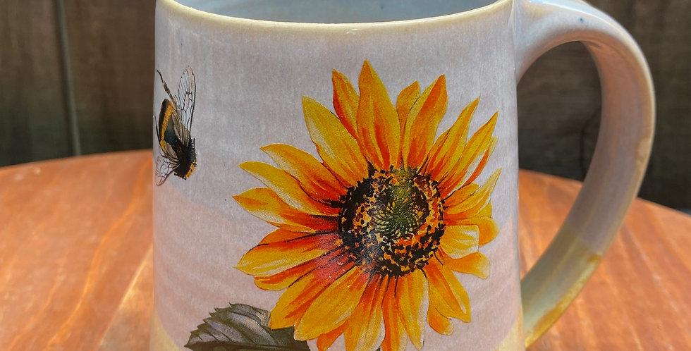 Sunflower and Bee Mug 028