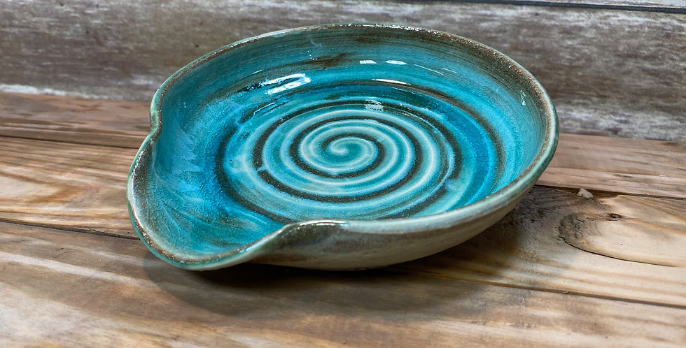 Turquoise Spoon Rest 02