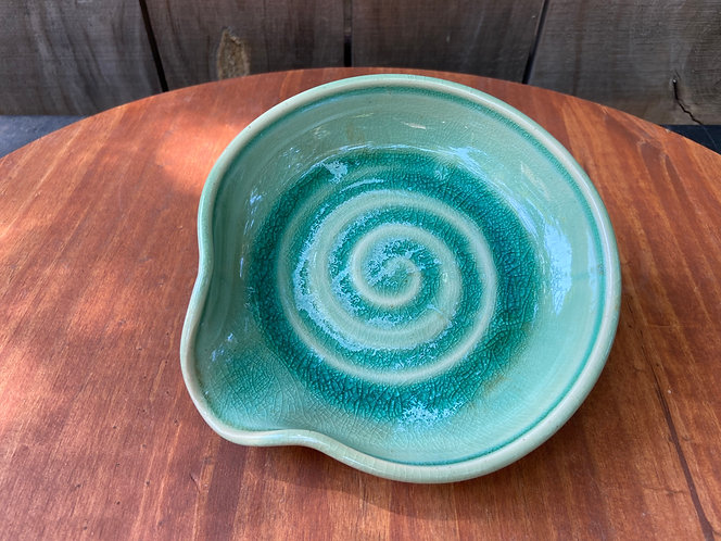 Turquoise Spoon Rest 03