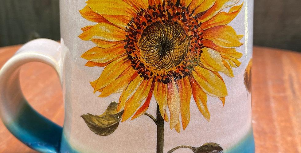 Sunflower and Bee Mug 020