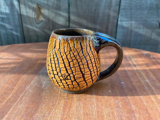 Tree Bark Espresso Mug Mango 01