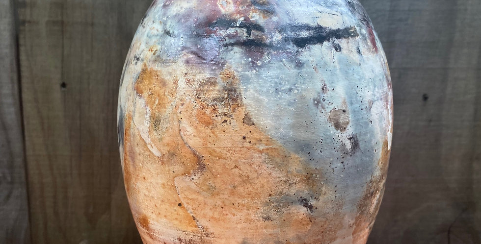Pit Fired Vase 08