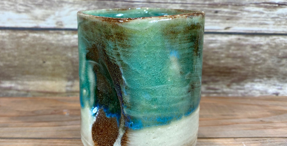 Turquoise Wine Cup 03