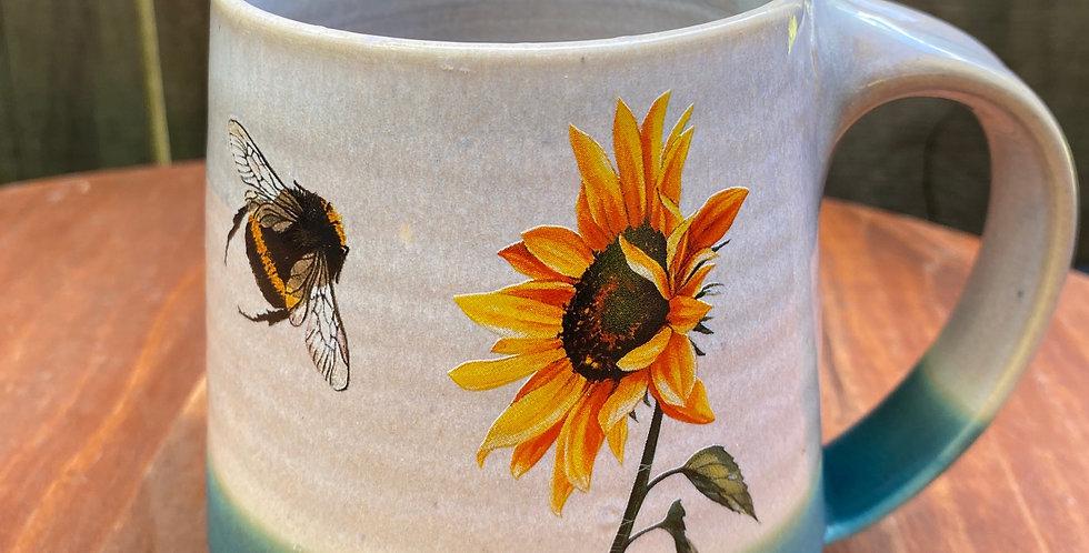 Sunflower and Bee Mug 024