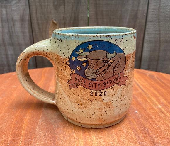 Bull City Strong Mug With Mug 011
