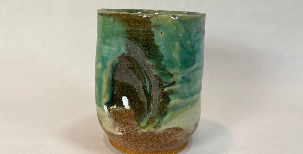 Turquoise Wine Cup 008