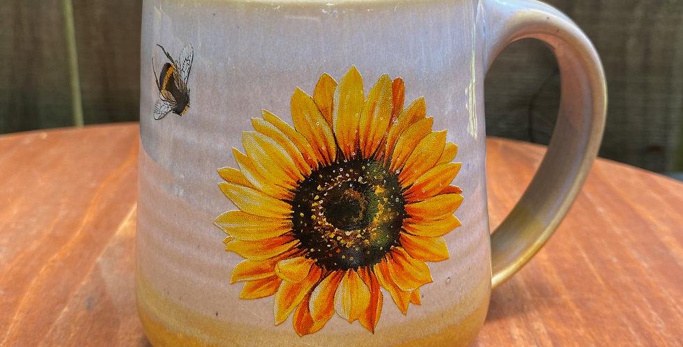 Sunflower and Bee Mug 029