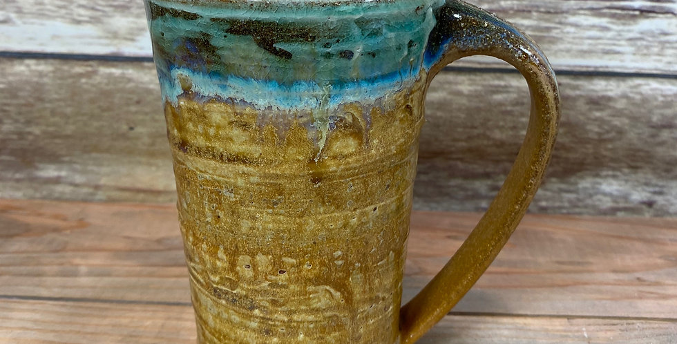 Gold Tall Mug 04