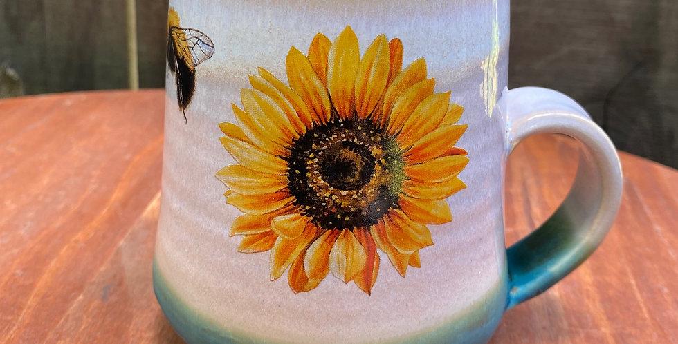 Sunflower and Bee Mug 022