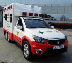 Model 970 Xenon lamp for ambulance