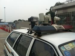 上海警察巡邏車
