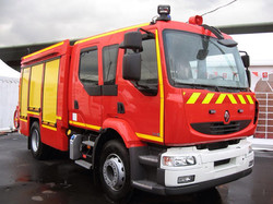 France firefighting trcuk
