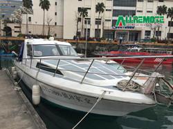 970型探照燈裝配遊艇