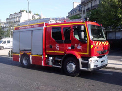 France firefighting trcuk
