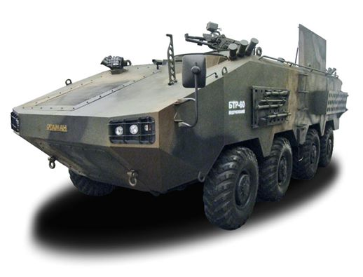 Wheeled Armored Vehicle 8x8
