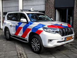 220S on Netherlands police Car