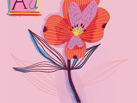 An Alphabet of Flowers