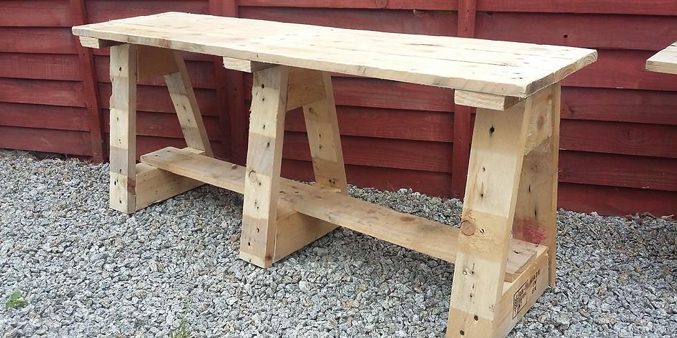 Build a Garden Bench using Reclaimed Timber
