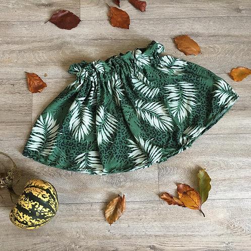 Leopard jungle skirt