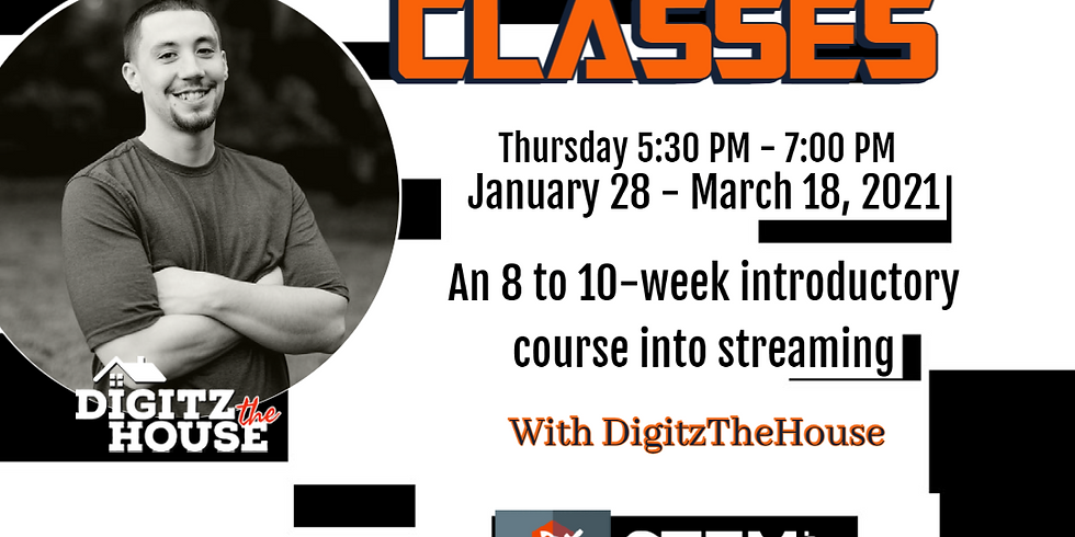 Brass City Gamers Presents: Streaming 101 Class