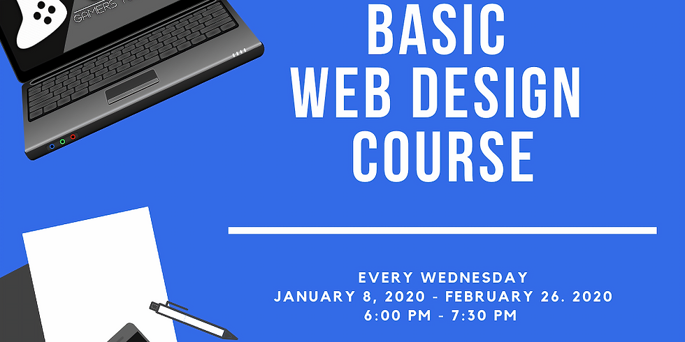 Brass City Gamers Presents: Wix Basic Web Design Course