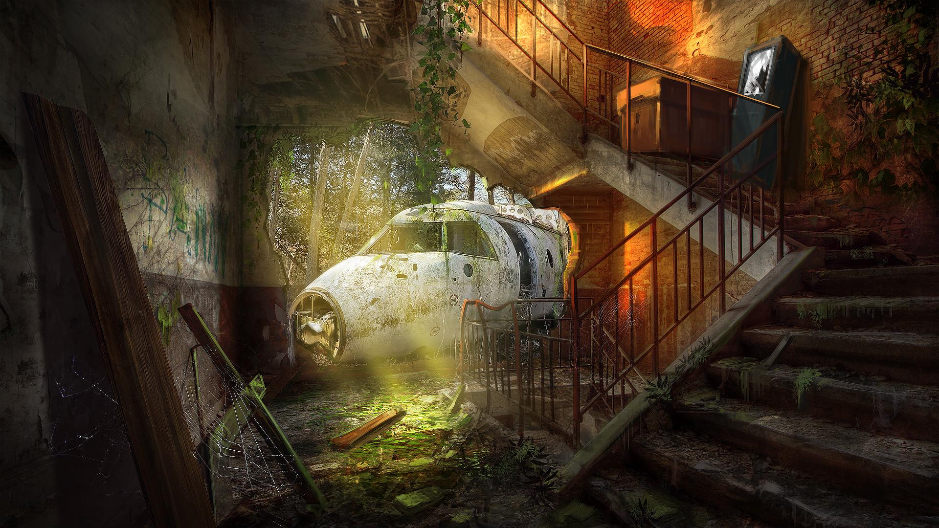 Post-Apocalyptic Interior