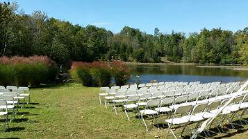 Our Lakeside wedding venue