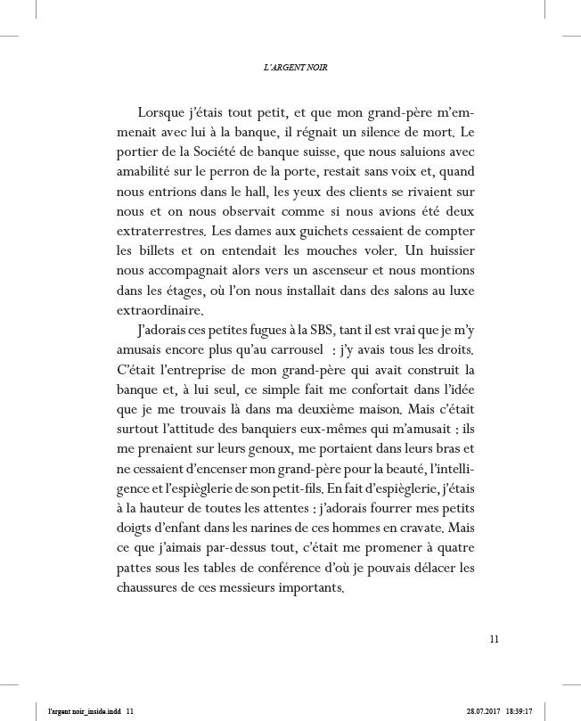 L'Argent noir - page 11