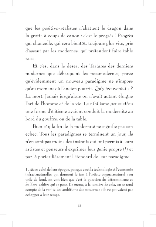 Plus ou moins postmoderne - page 13