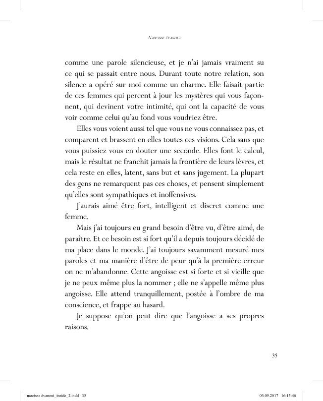 Narcisse évanoui - page 35