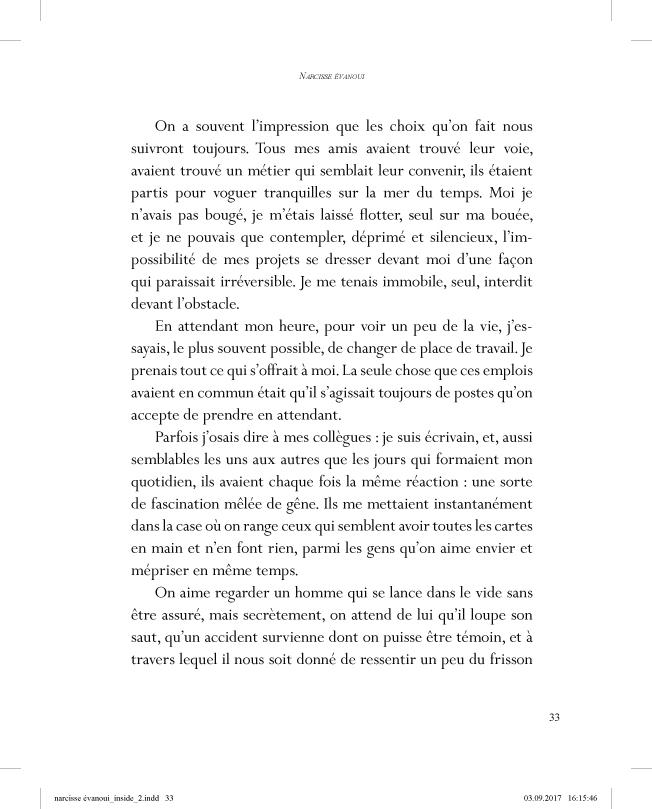 Narcisse évanoui - page 33