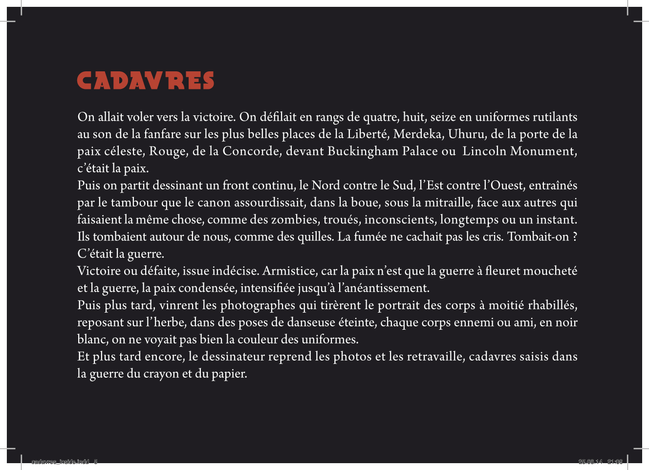 Cadavres - page 5