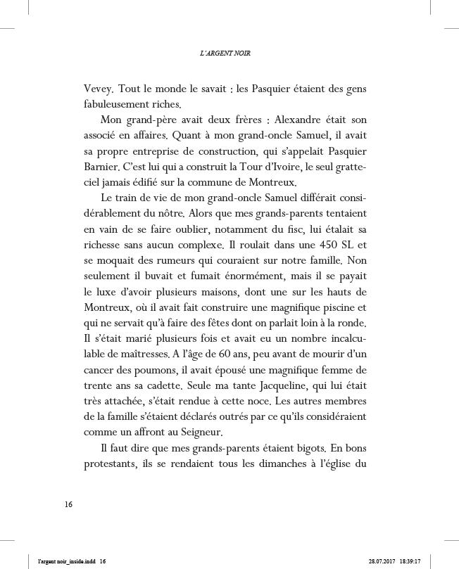 L'Argent noir - page 16