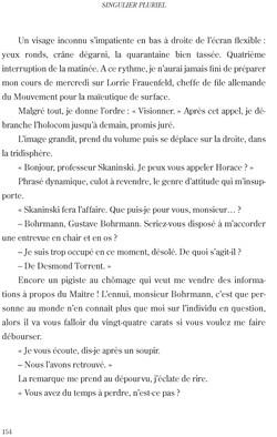 Singulier pluriel - page 154