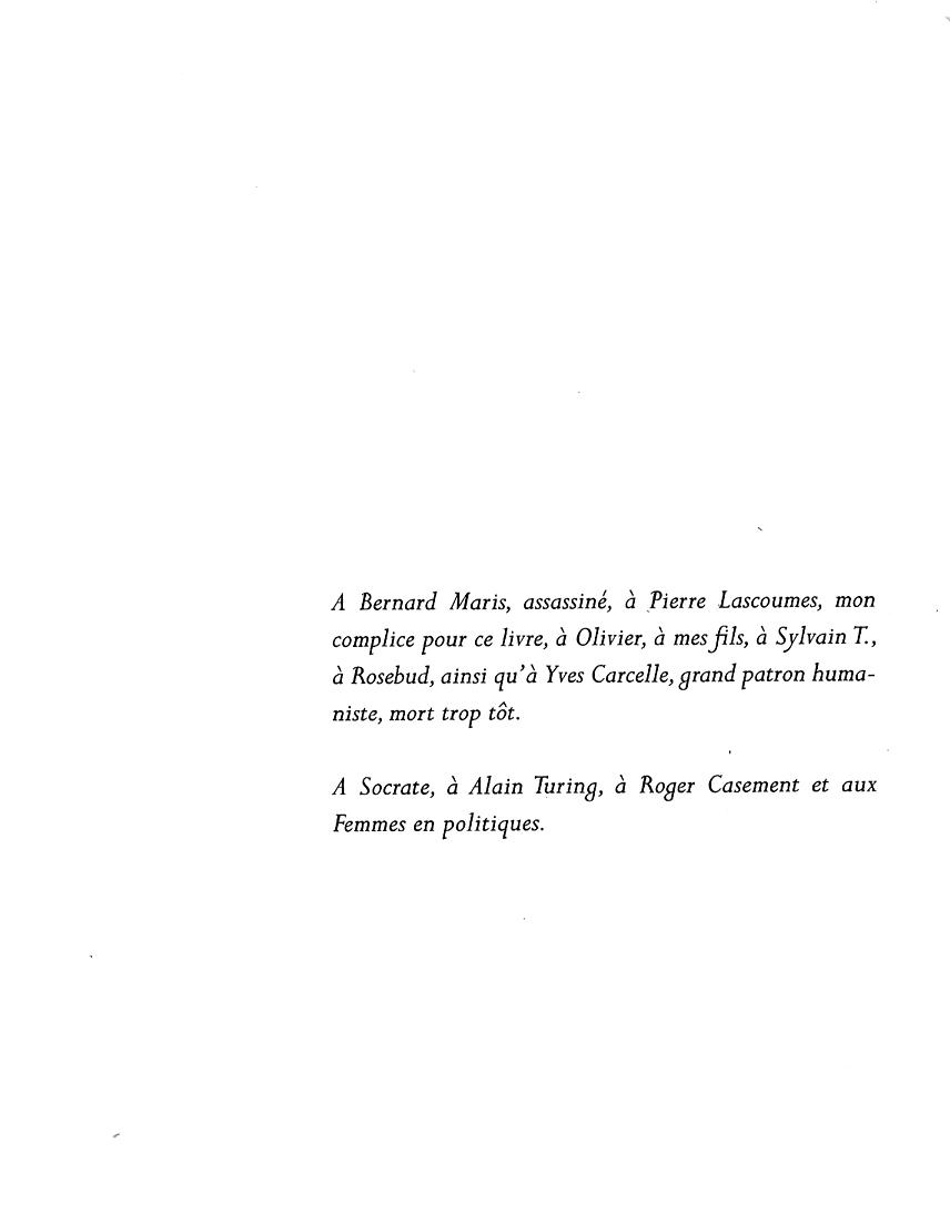 perdre la paix - page 1