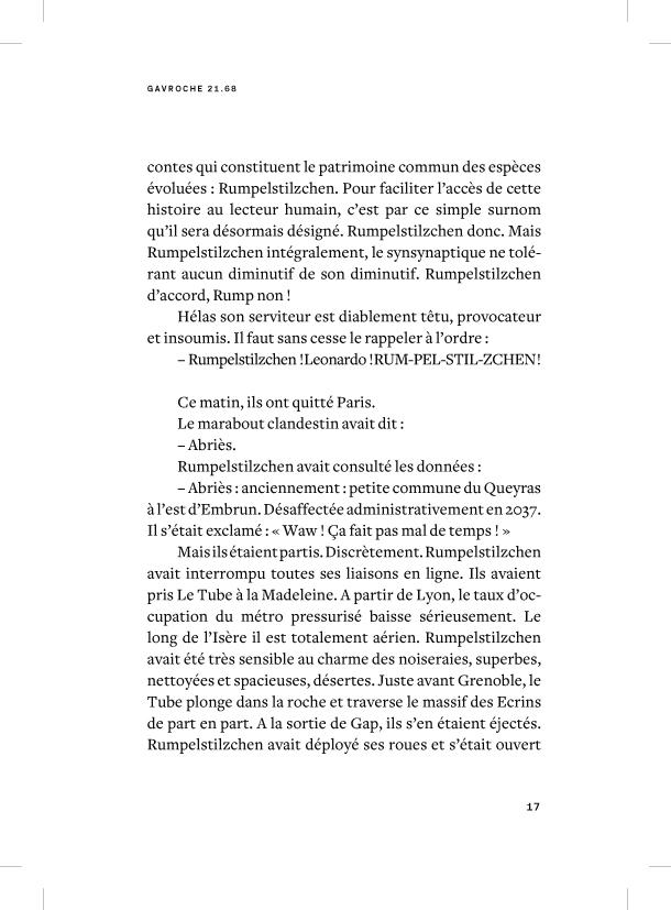 Gavroche 21.68 - page 17