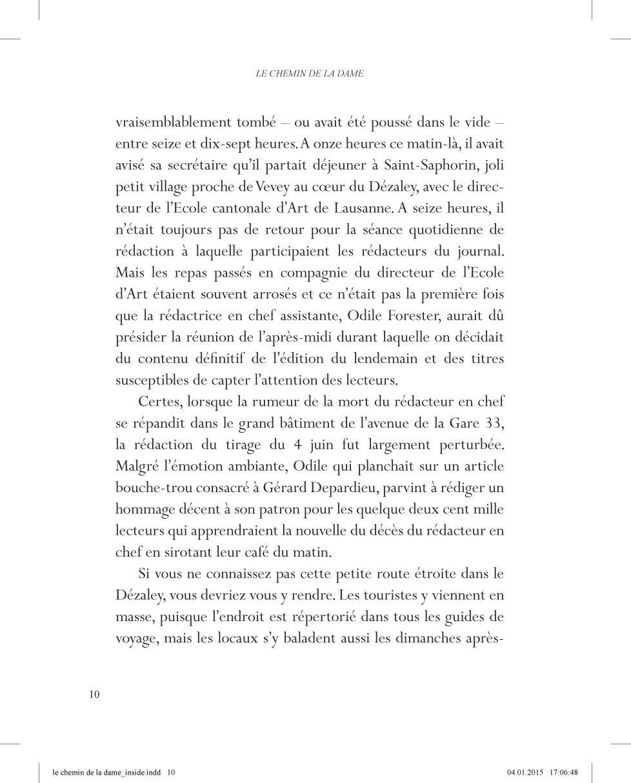 Le chemin de la Dame - page 10