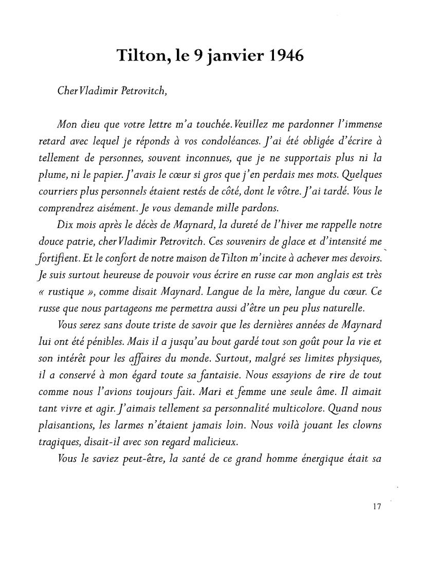 perdre la paix - page 17