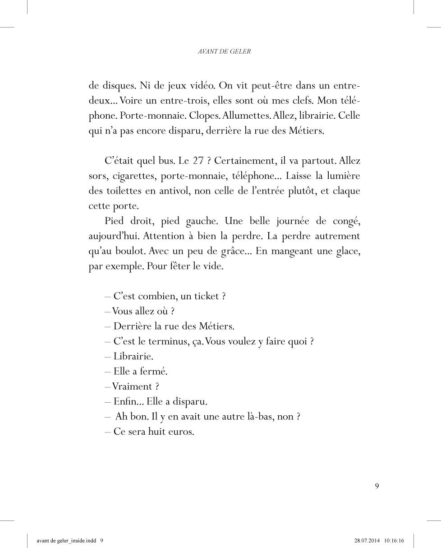 Avant de geler - page 9