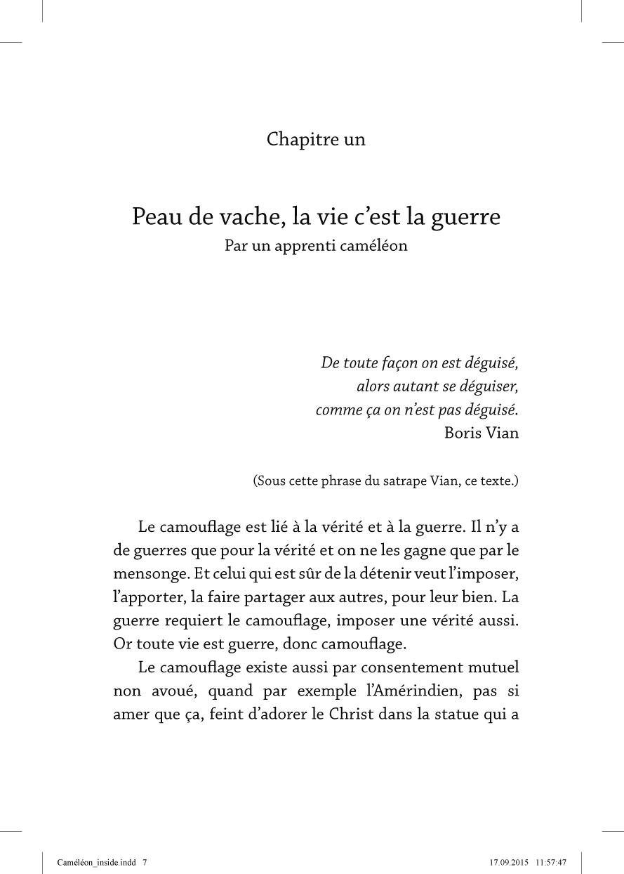 Le caméléon écorché - page 7