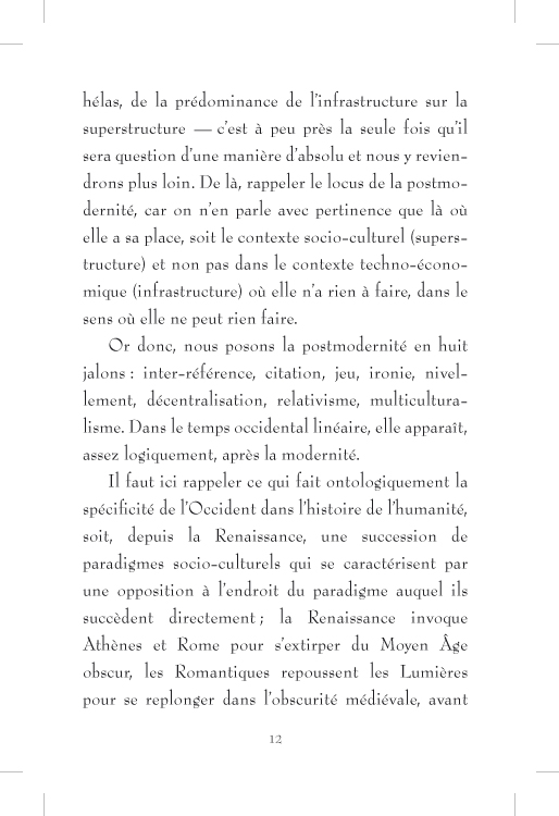 Plus ou moins postmoderne - page 12