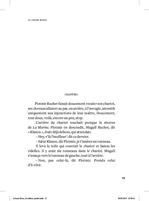 La lueur bleue - page 15