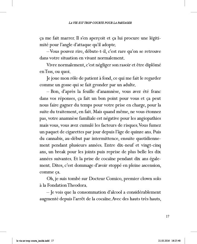 La vie est trop courte pour la partager - page 17