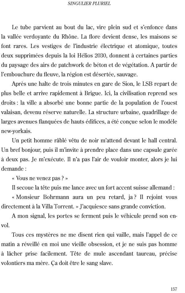 Singulier pluriel - page 157