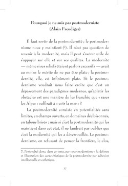 Plus ou moins postmoderne - page 37