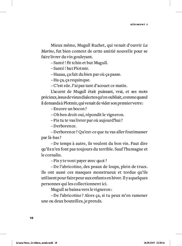 La lueur bleue - page 18