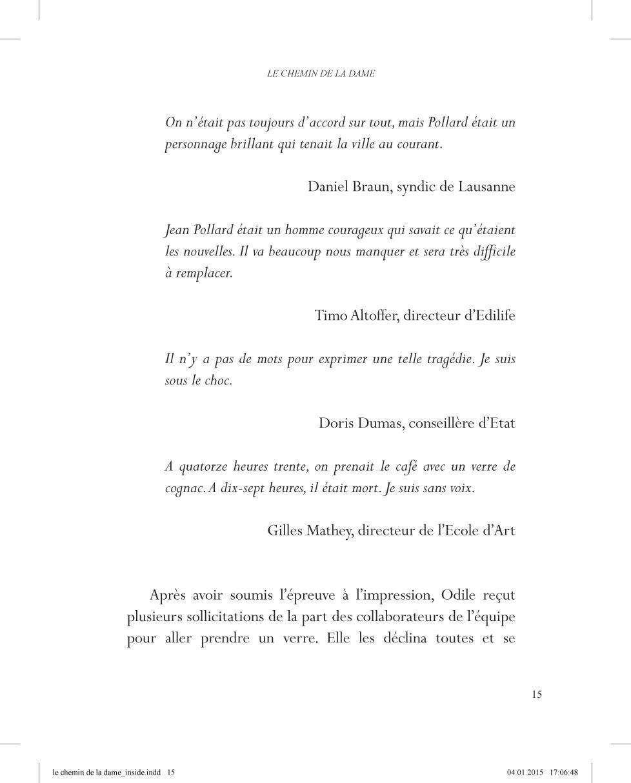Le chemin de la Dame - page 15