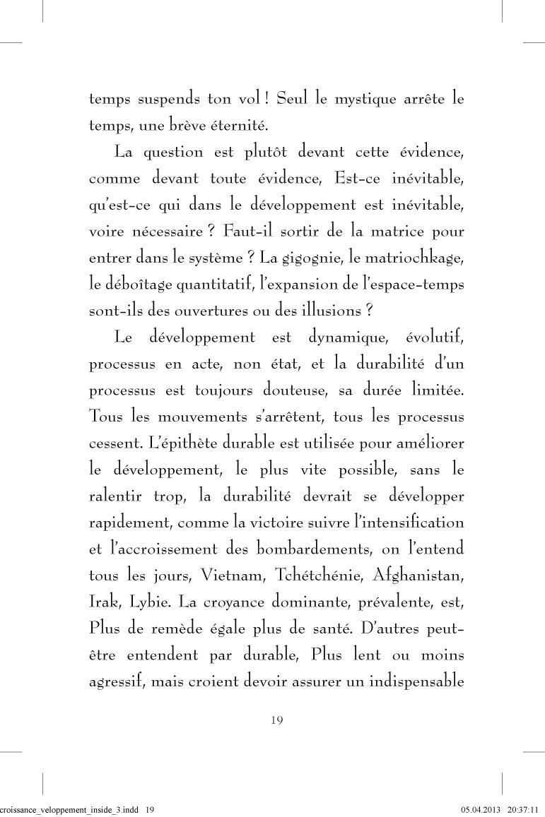 Décroissance développement - page 19