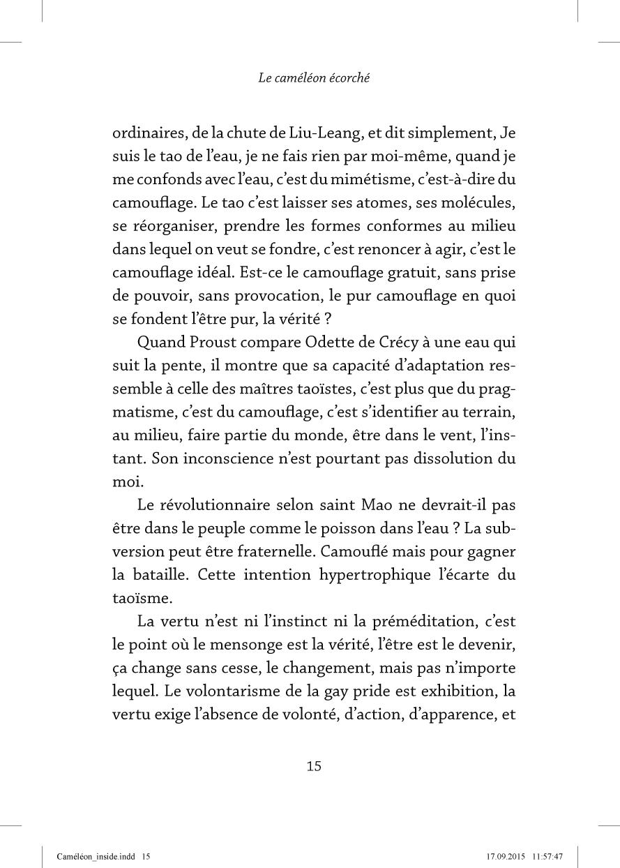 Le caméléon écorché - page 15