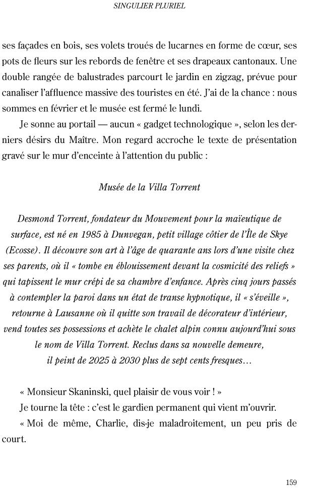 Singulier pluriel - page 159